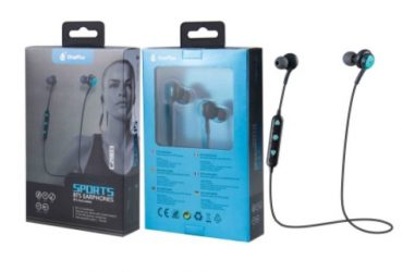 Private: C2803 BLUETOOTH SPORTS HEADSET BOUNCE WITH MICROPHONE, BLUE..
